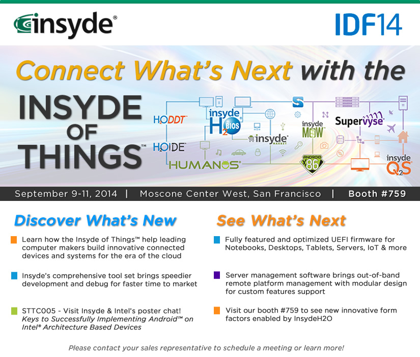 Events | Insyde Software